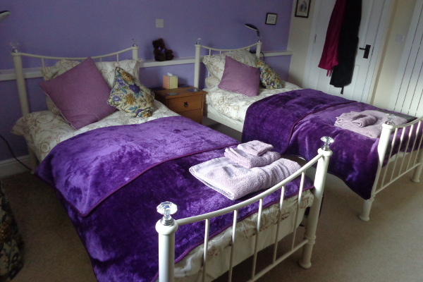 lilac room beds